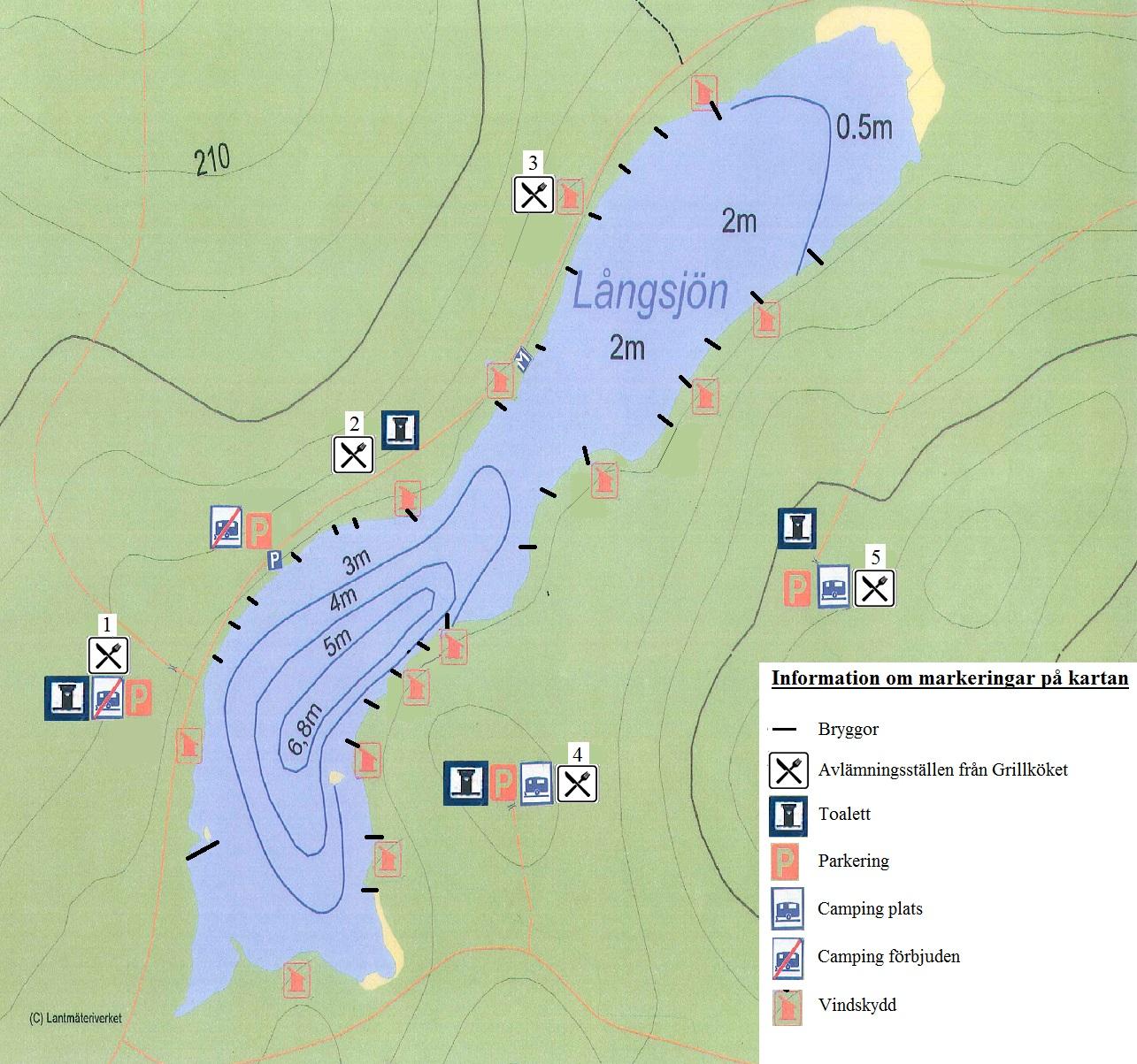långsjön karta Karta Hubolångsjön långsjön karta